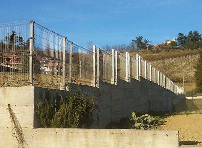 Rete plastic posa in opera recinzioni edilizia civile e for Rete ombreggiante grigia